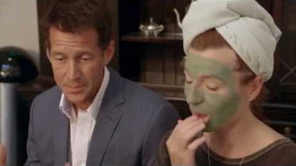 "James Denton (L), Tanna Frederick (R) in a scene from ""Ovation"""