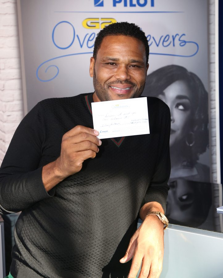 Actor Anthony Anderson (Photo by Maury Phillips/Getty Images for GBK