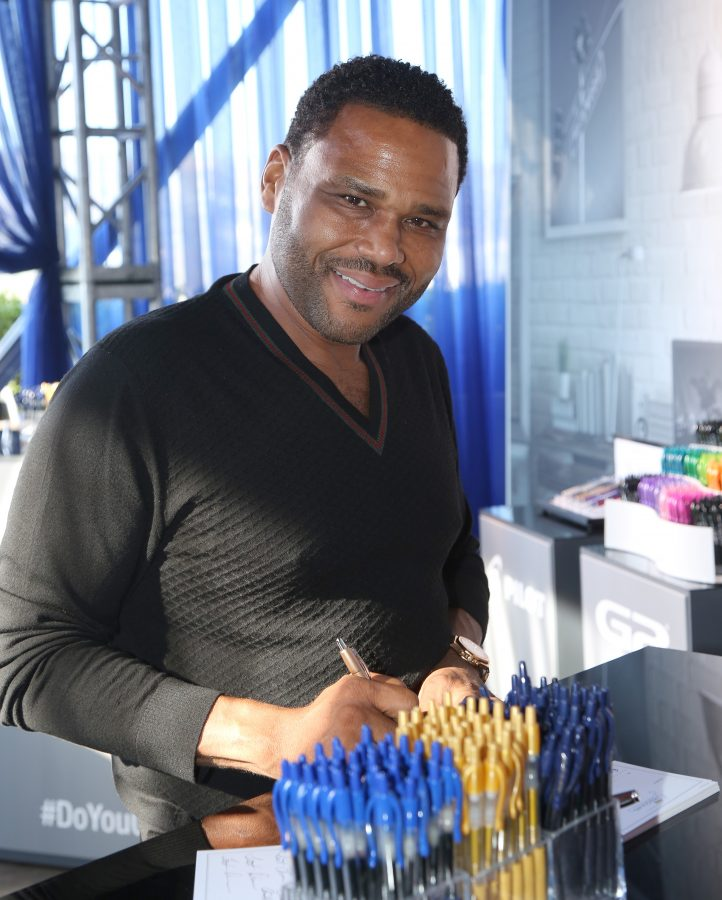 Actor Anthony Anderson  (Photo by Maury Phillips/Getty Images for GBK Productions)