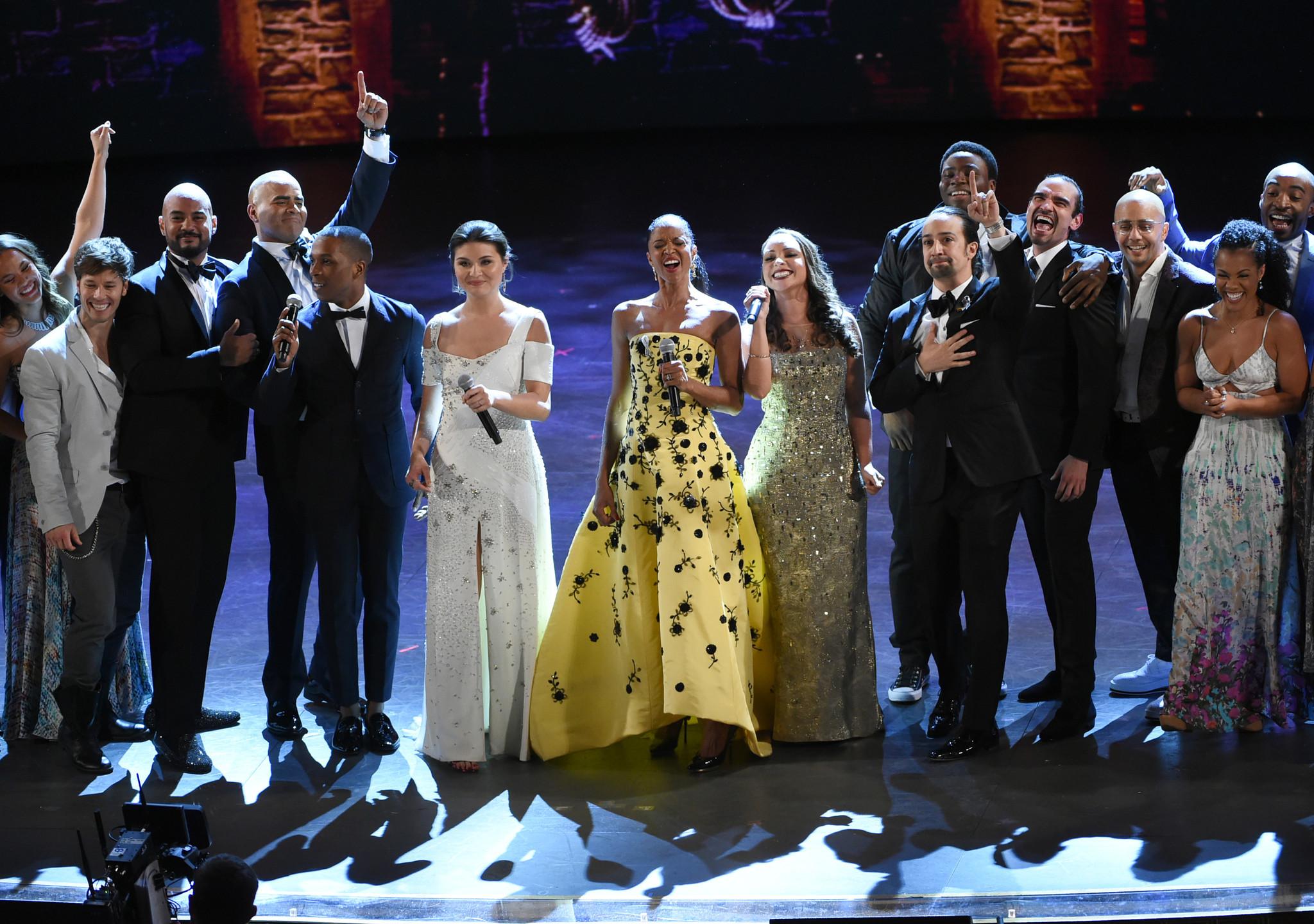 "Ton Award FInale with ""Hamilton"" Cast"