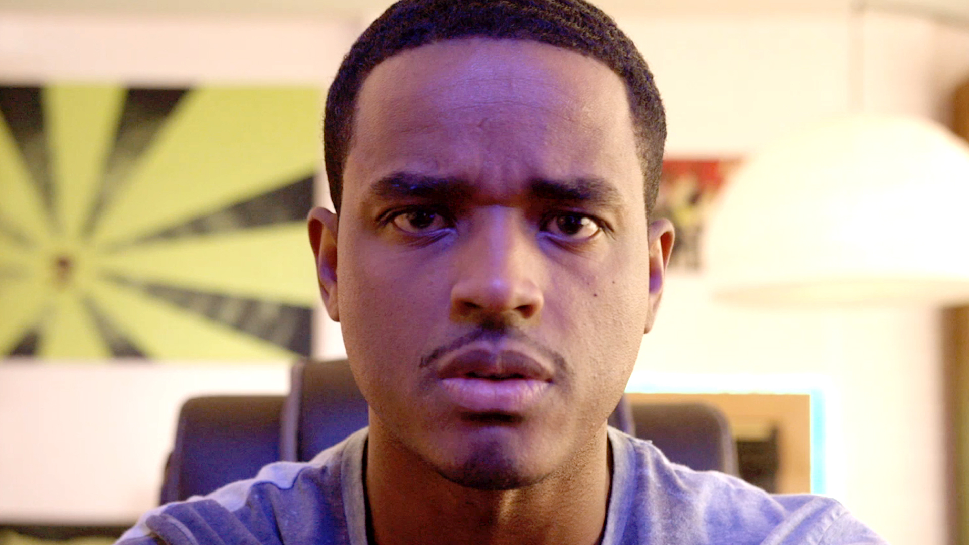 "Larenz Tate in a scene from ""Beta Test"""