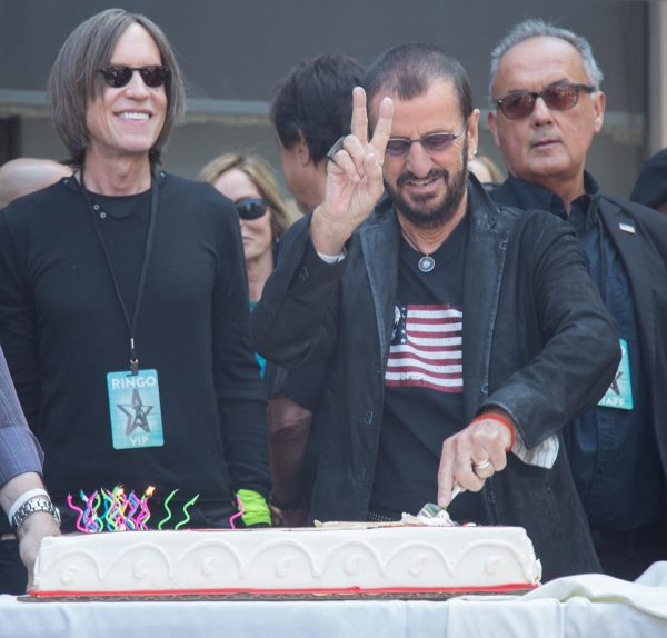 Ringo Starr attends 'Peace & Love' Birthday Celebration