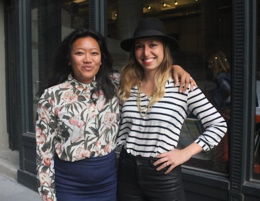 Natasha Case & Freya Estreller of Coolhaus - Photo Courtesy MMlaFleur