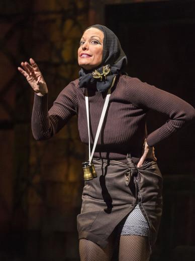 "Rachel York as Little Edie in ""Grey Gardens"" The Musical"