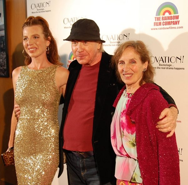 Tanna Frederick, Henry Jaglom, and Andrea Marcovicci