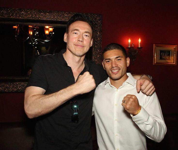 Kevin Durand (L), Miguel Gomez (R)