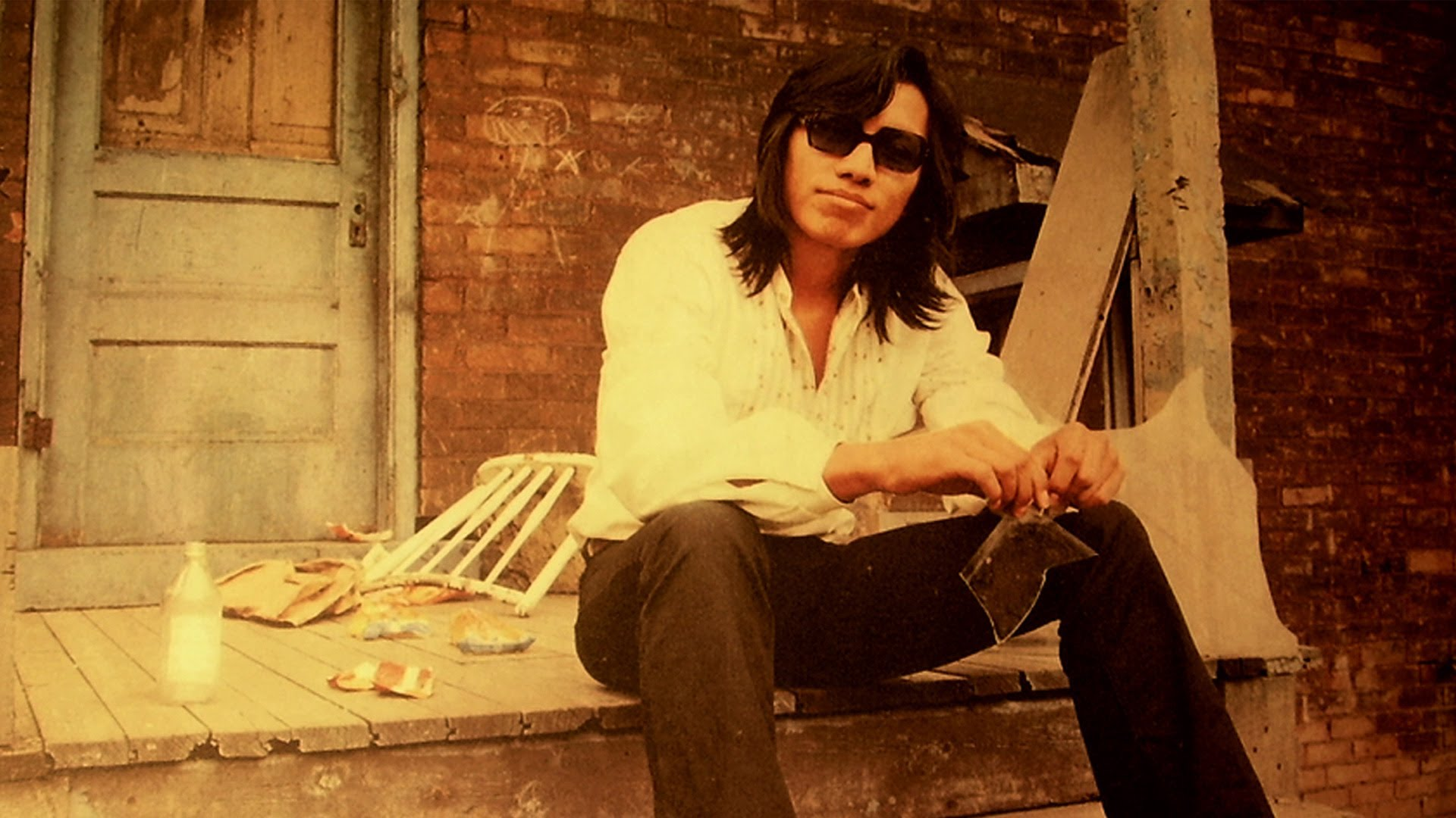 searching for sugarman - pictured is Rodriguez