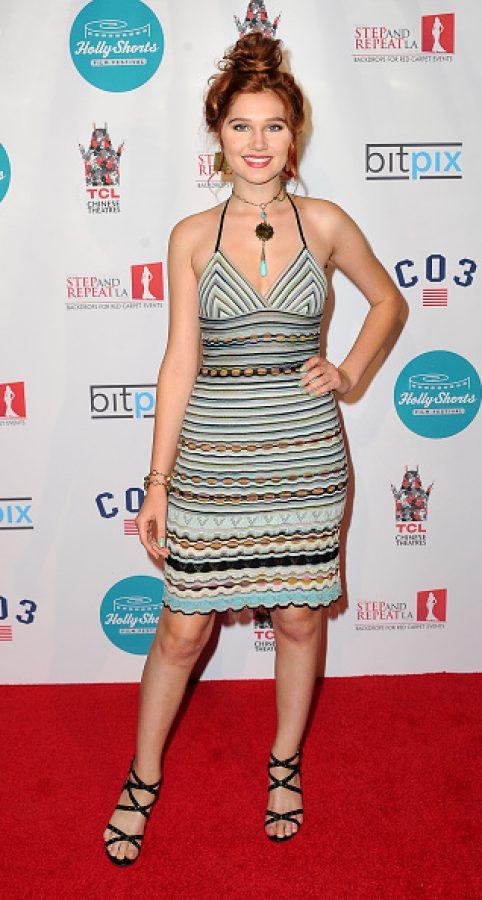 Actress Serena Laurel   (Photo by Allen Berezovsky/WireImage)