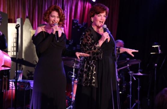 "Closing the night with ""Old Friends"" Kerry O'Malley and Mary Callahan – Image credit - Karen Staitman Photography"