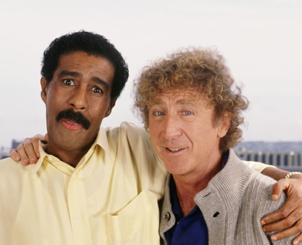 Richard Pryor with Gene Wilder