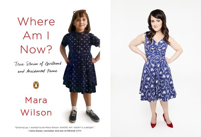 mara wilson book cover
