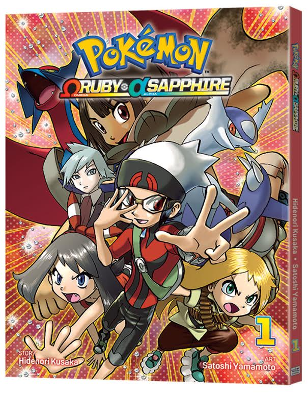 POKÉMON OMEGA RUBY & ALPHA SAPPHIRE ©2016 Pokémon. ©1995-2016 Nintendo/Creatures Inc./GAME FREAK inc. TM, ®, and character names are trademarks of Nintendo. POCKET MONSTERS SPECIAL ΩRUBY・αSAPPHIRE © 2015 Hidenori KUSAKA, Satoshi YAMAMOTO/SHOGAKUKAN
