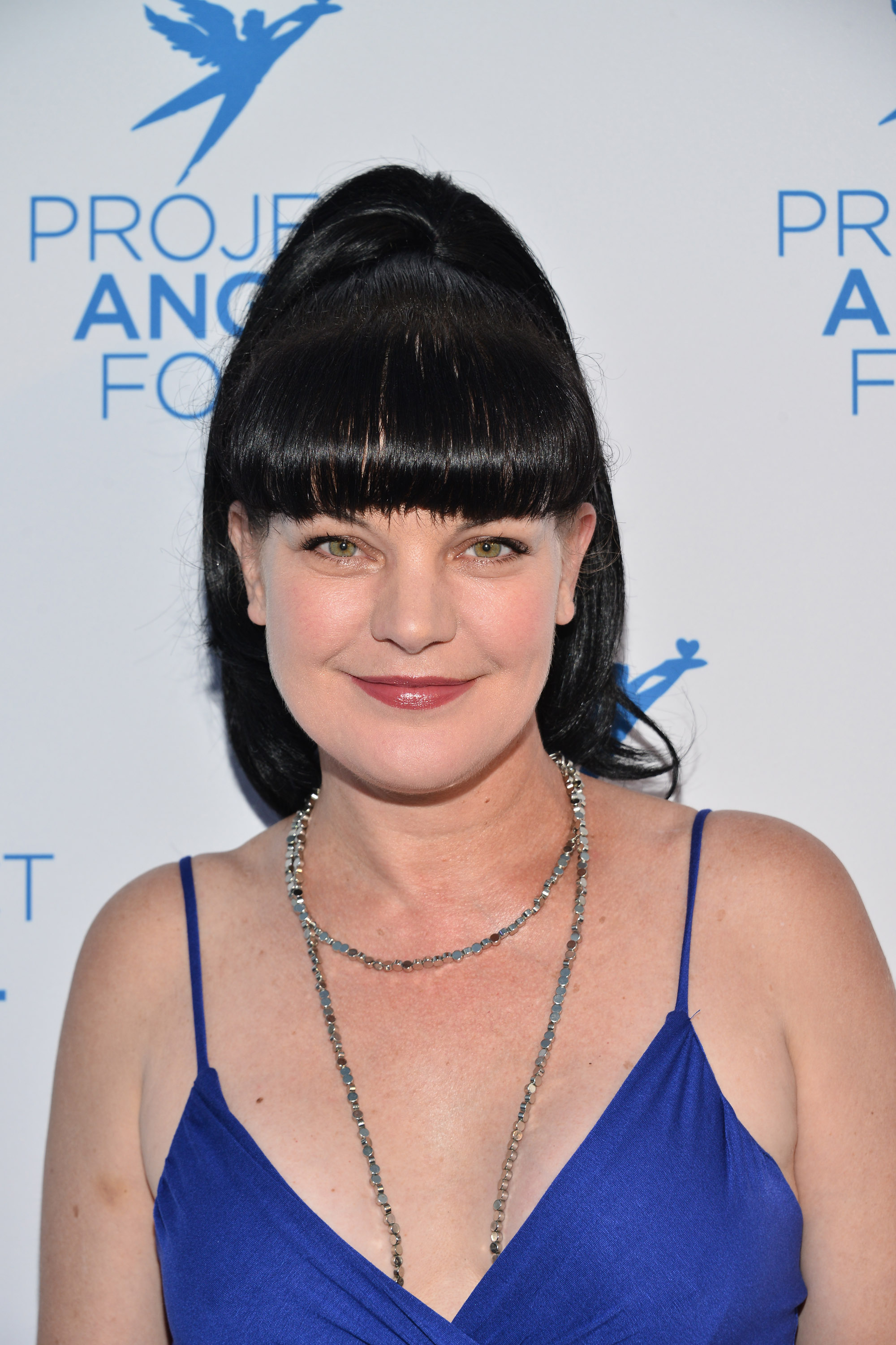 Pauley Perrette  (Photo by Araya Diaz/Getty Images for Project Angel Food)