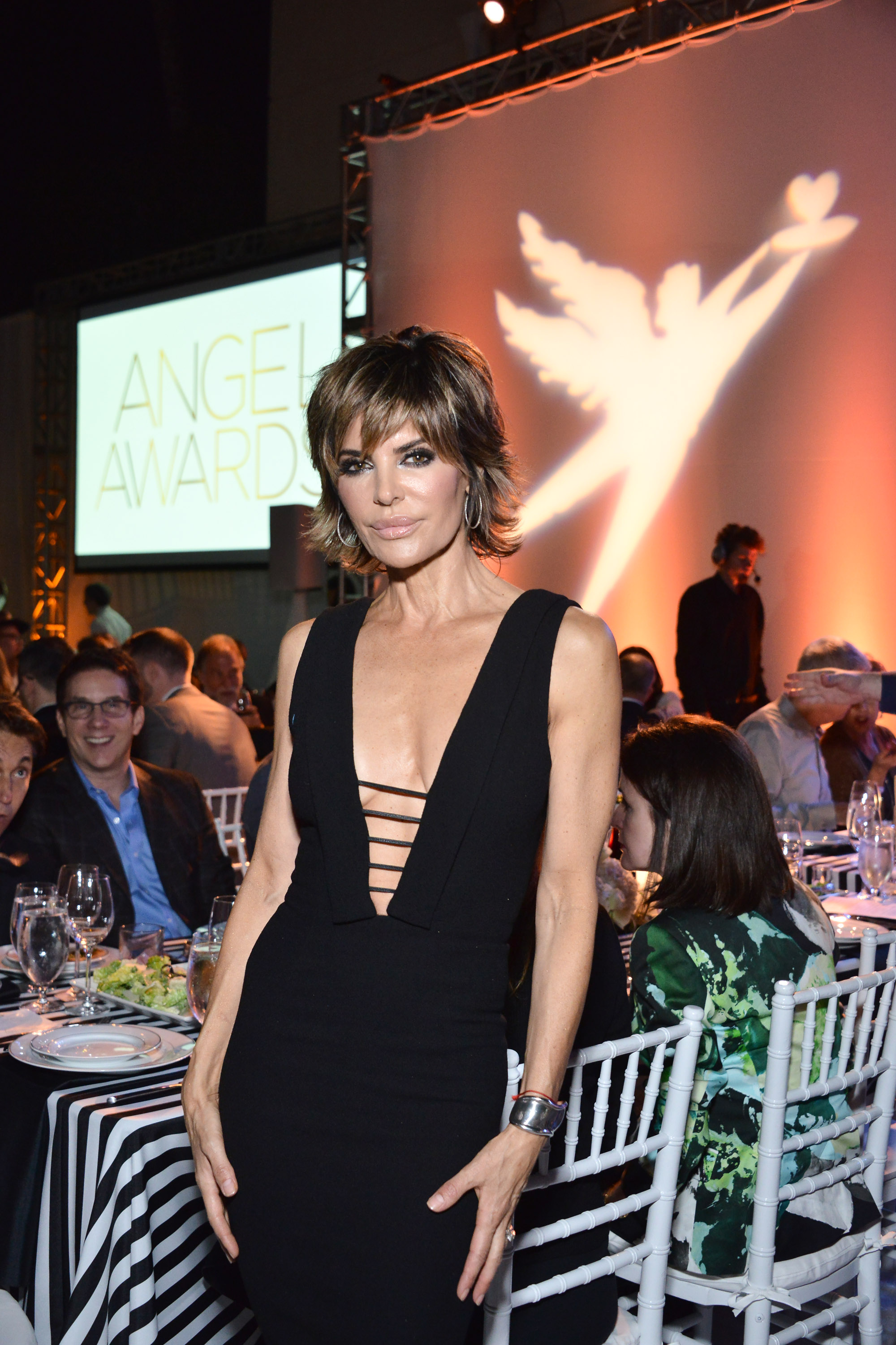 Lisa Rinna attends the Project Angel Food's Angel Awards 2016  (Photo by Araya Diaz/Getty Images for Project Angel Food)