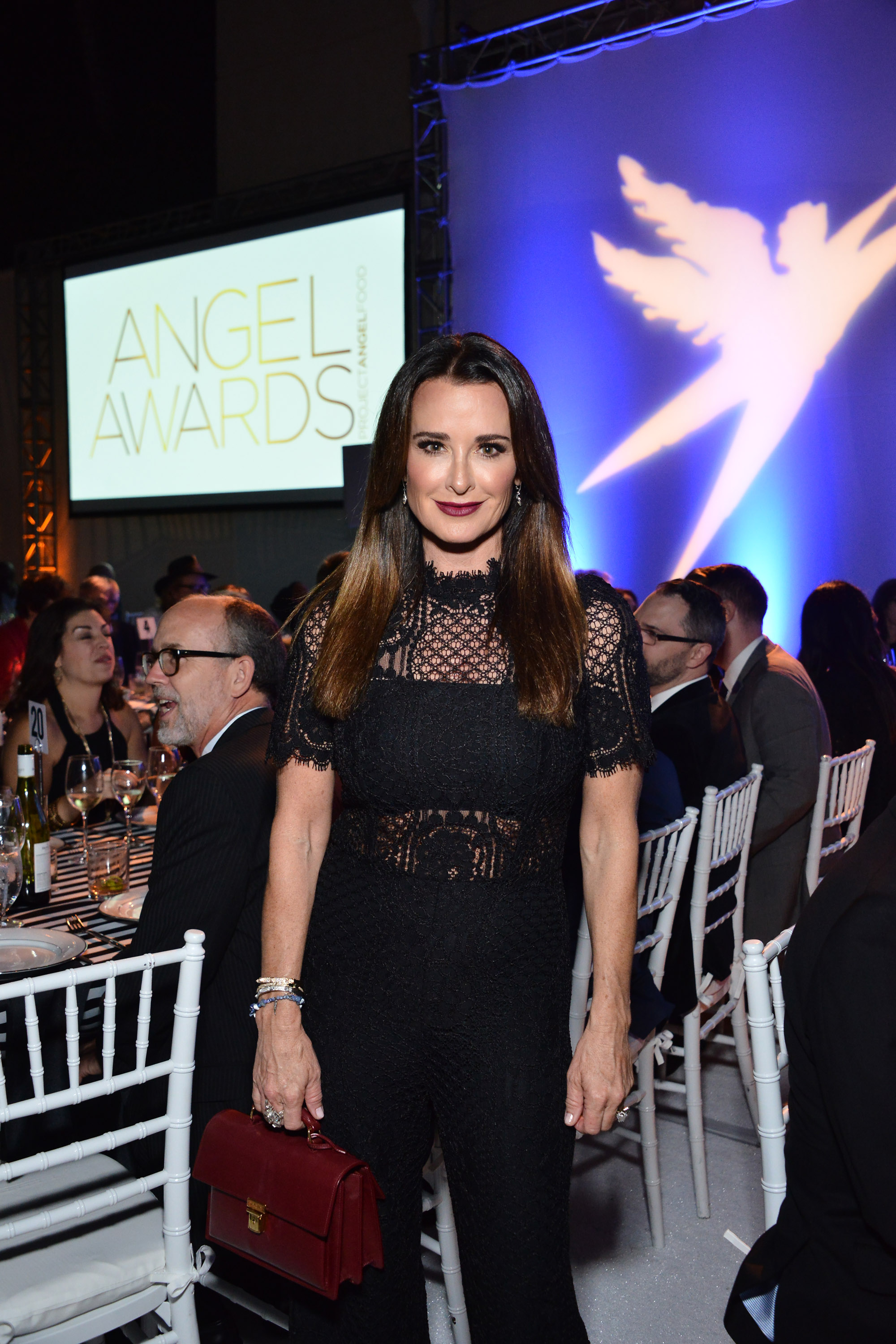 Kyle Richards attends the Project Angel Food's Angel Awards 2016 (Photo by Araya Diaz/Getty Images for Project Angel Food)