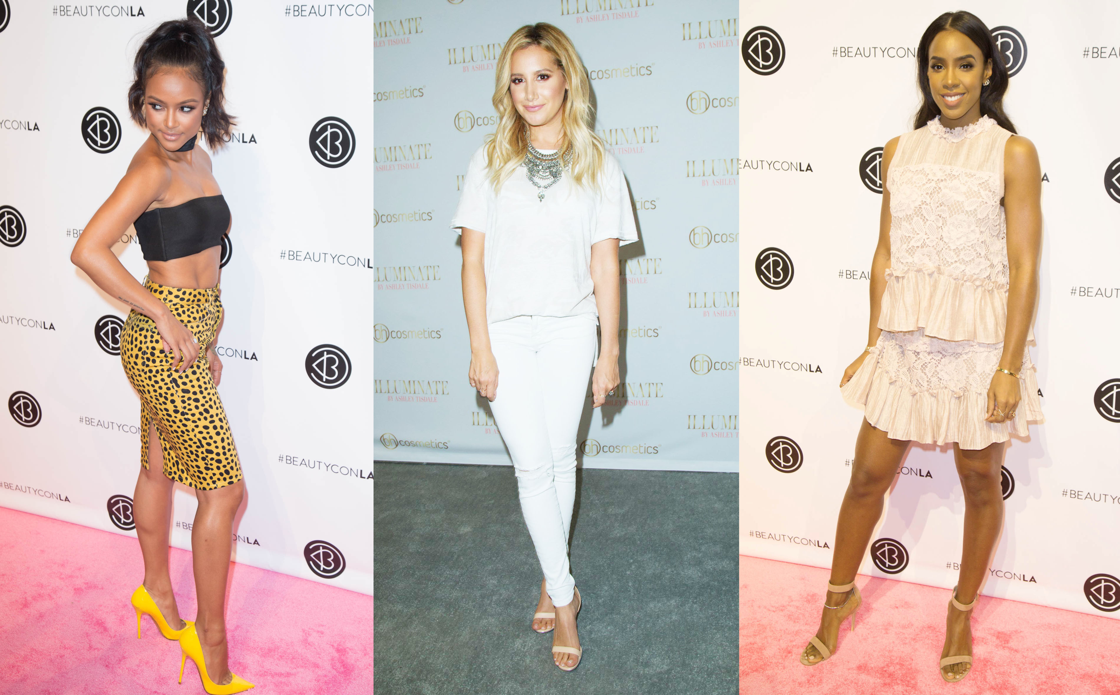 Karrueche Tran - Ashley Tisdale  - Kelly Rowland
