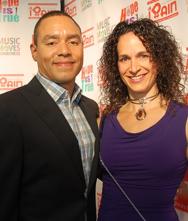 "Melissa Cady-D.O.-Author of ""Paindemic"", and her husband"
