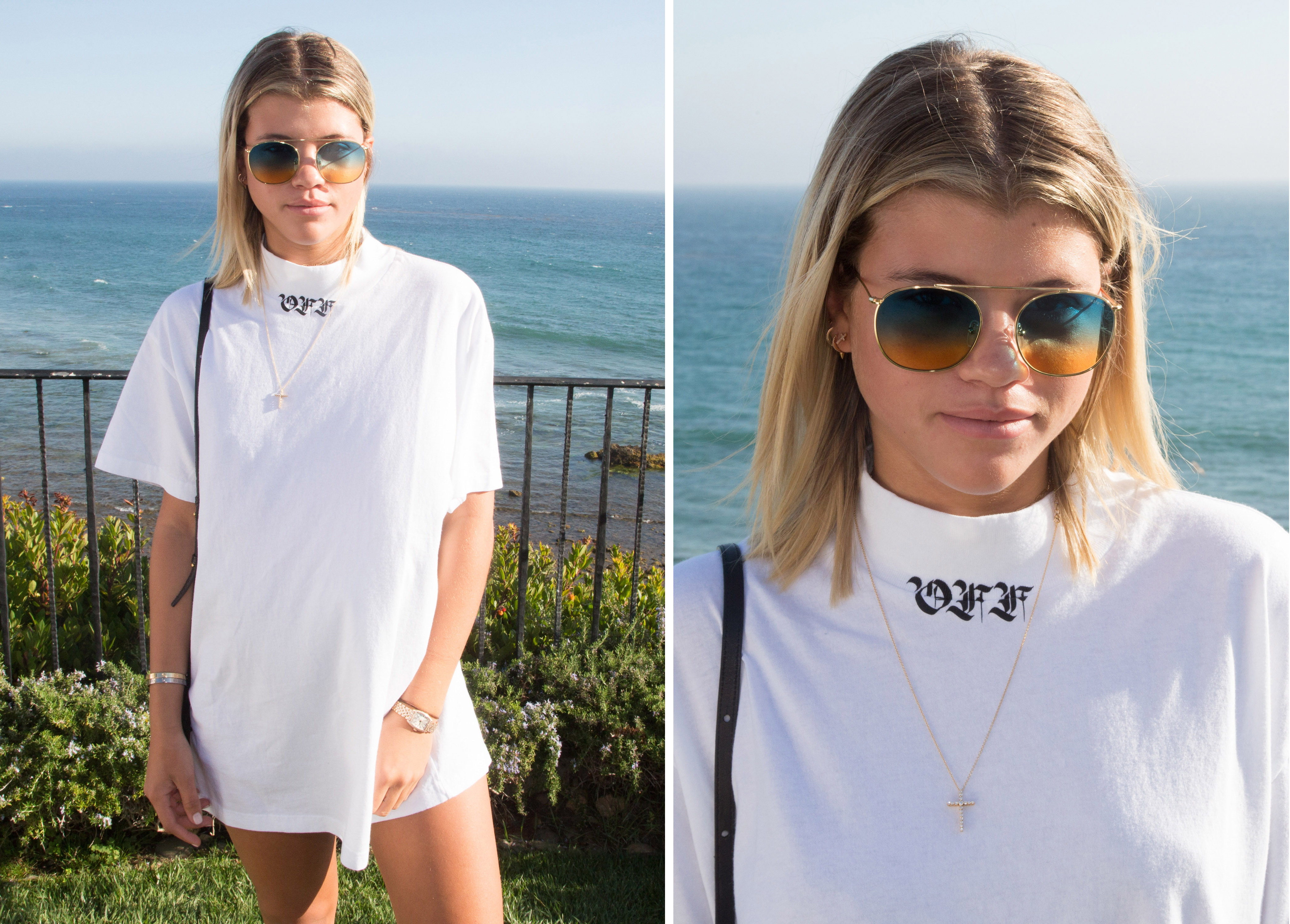 MALIBU, CA - SEPTEMBER 17: Sofia Richie attends the Treats! Magazine 4th Annual White Party Sponsored By Stella Artois on September 17, 2016 in Malibu, California. (Photo by Gabriel Olsen/WireImage)
