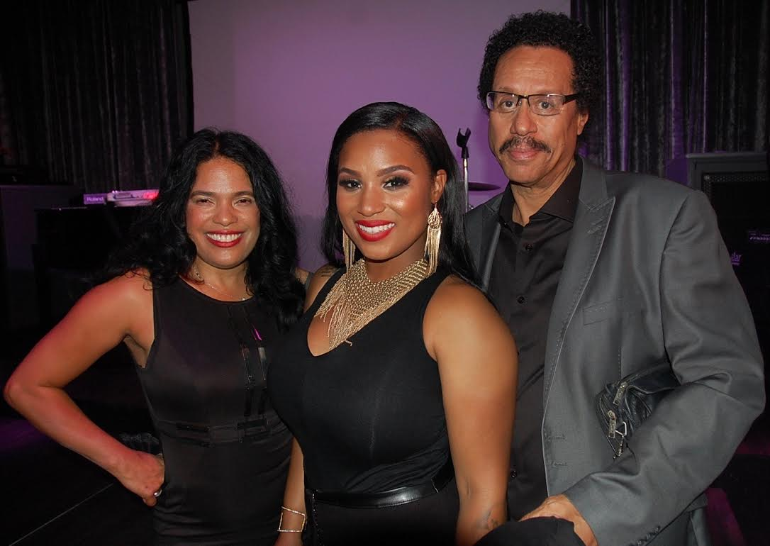 Aunyae Heart with Larry & Luisa Dunn
