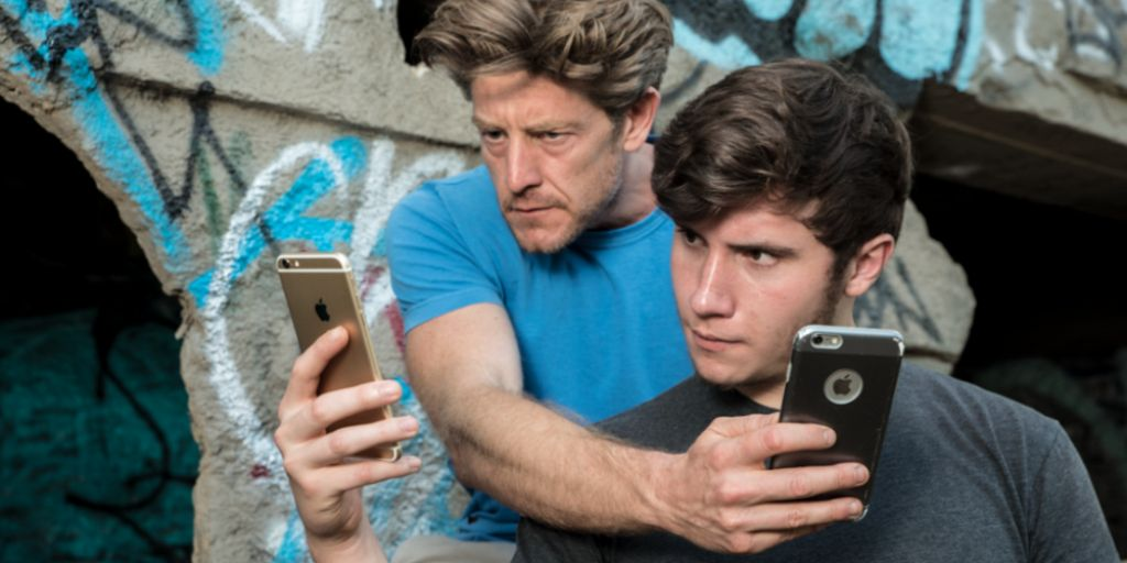 Jason Nash and Brandon Calvillo