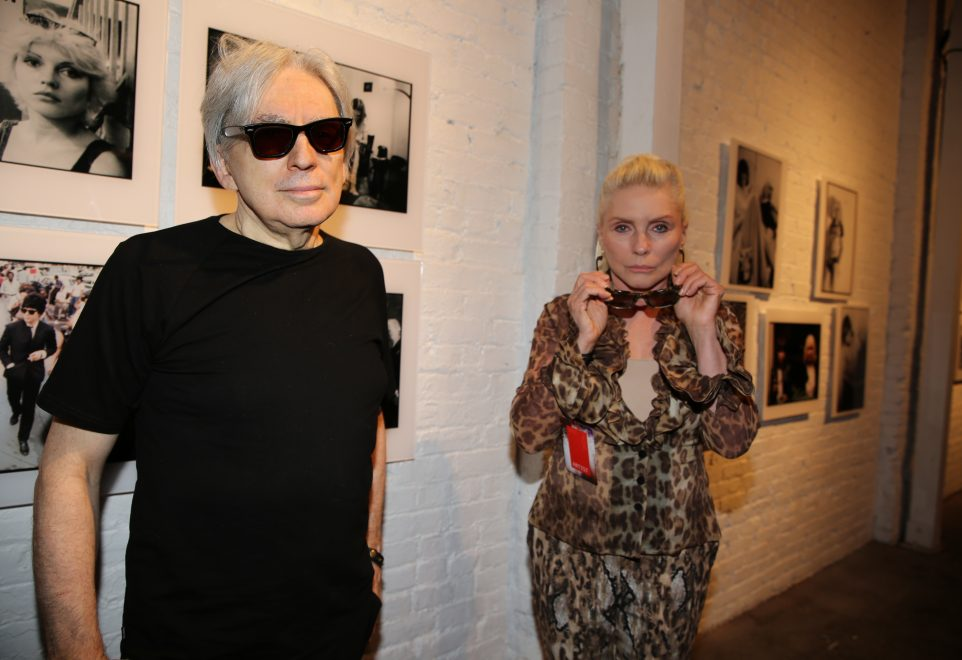 Chris Stein & Debby Harry