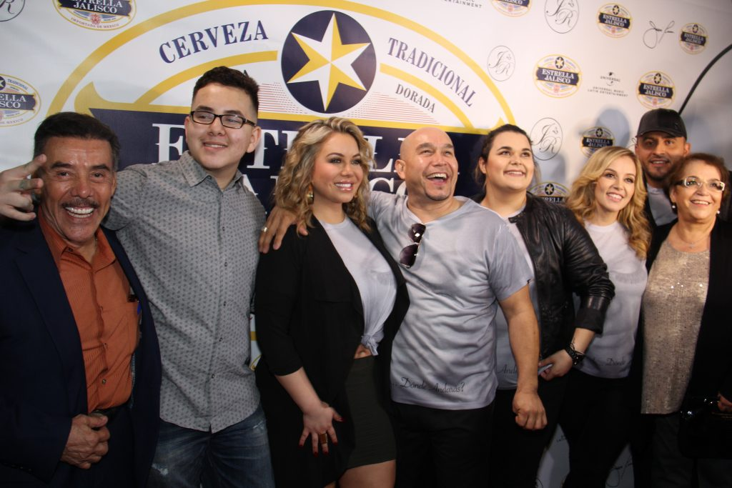The Rivera's on the red carpet at Candela Bar & Grill [LA] on Wed. – Oct. 26, for Jenni Rivera's album release party of 'Paloma Negra Desde Monterey' (Photo by: Fredwill Hernandez/The Hollywood 360)