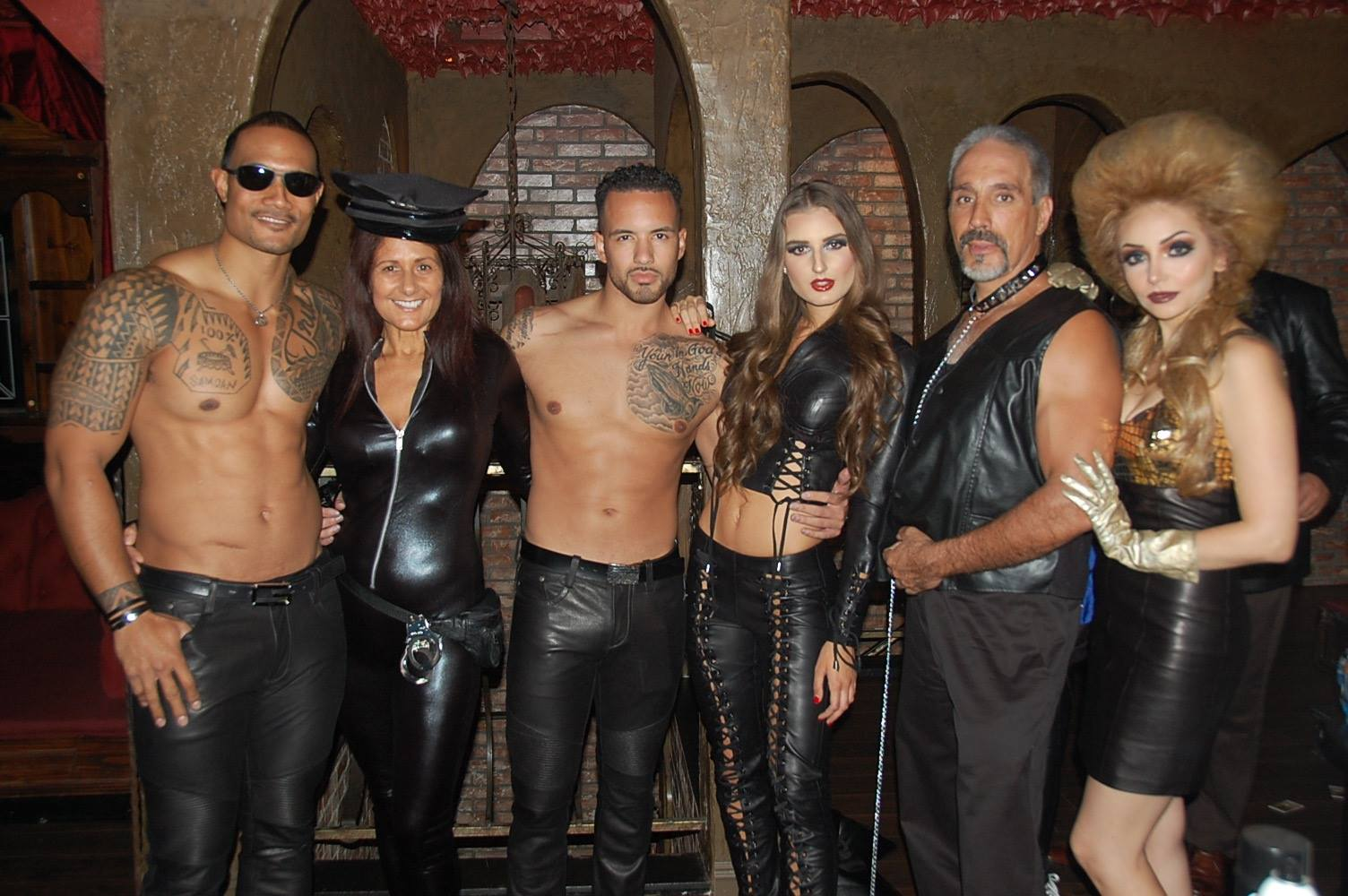 Kiss The Monkeys Leather and Lace Halloween Costume Party – The ...