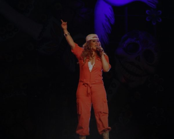 Jenni Rivera reappears singing 'Cuando una dama Muere' through hologram (Photo by: Fredwill Hernandez/TH360)
