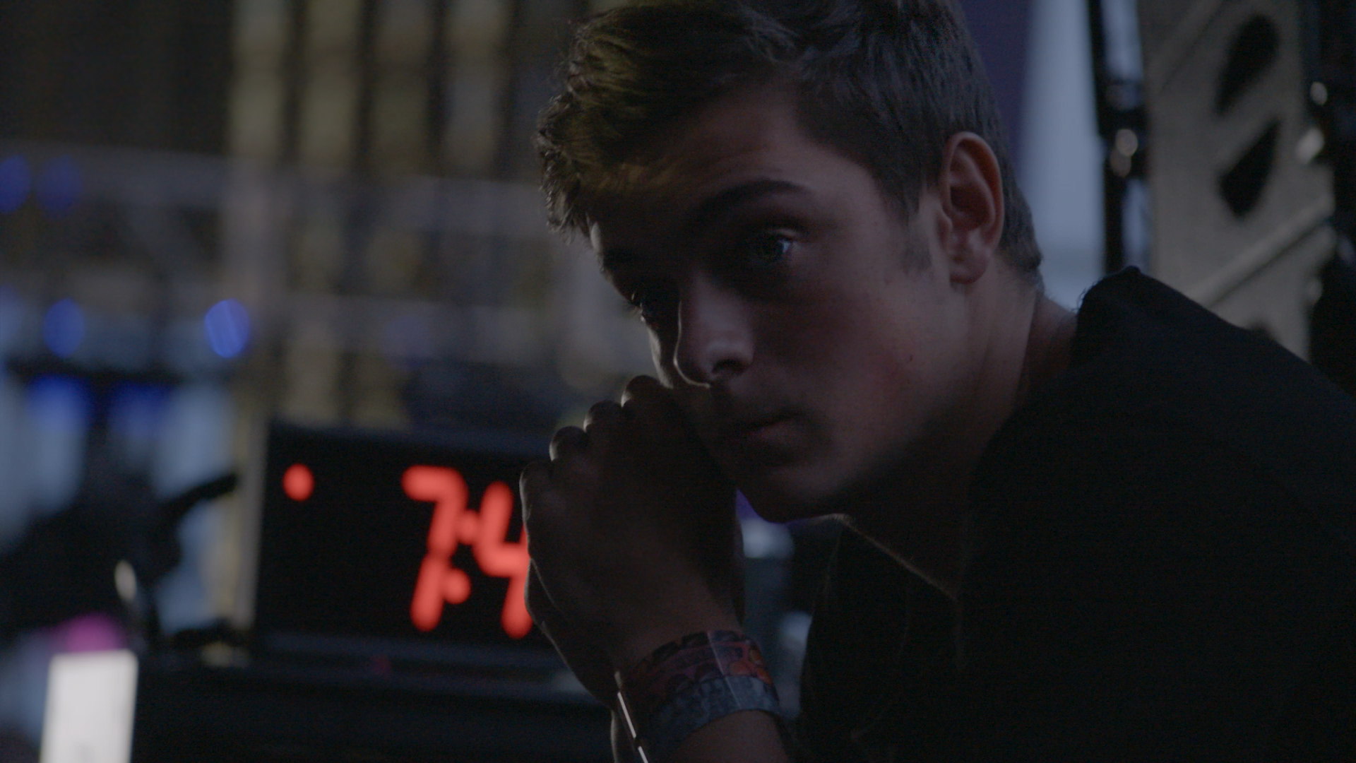 Martin Garrix before taking the mainstage at Ultra for the first time in WHAT WE STARTED - (c) Bert Marcus Productions