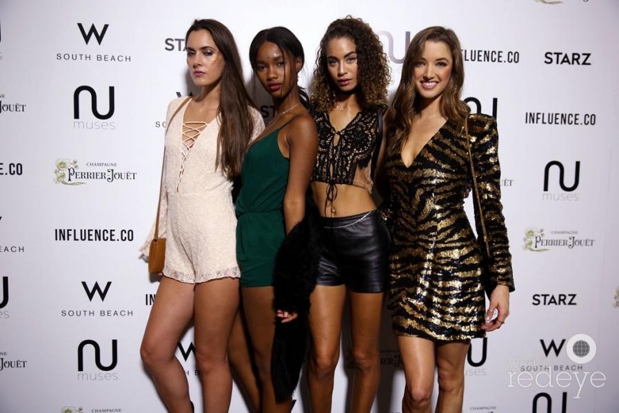 Courtney Cameron, Mariama Diallo, Rachel James, & Alyssa Arce