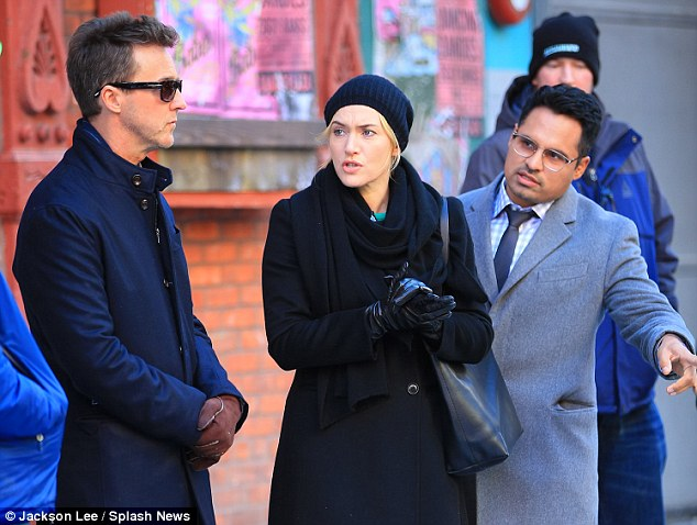 Ed Norton, Kate Winslet and Michael Pena