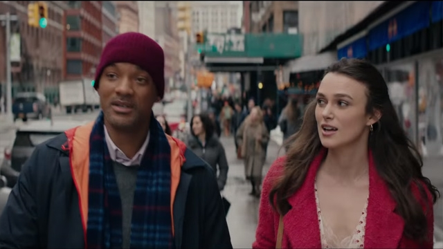 "Will Smith and Leira Knightley in ""collateral beauty """