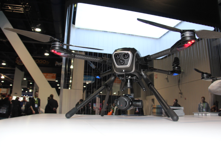 PowerVision's PowerEye drone (Photo by: Fredwill Hernandez/The Hollywood 360)
