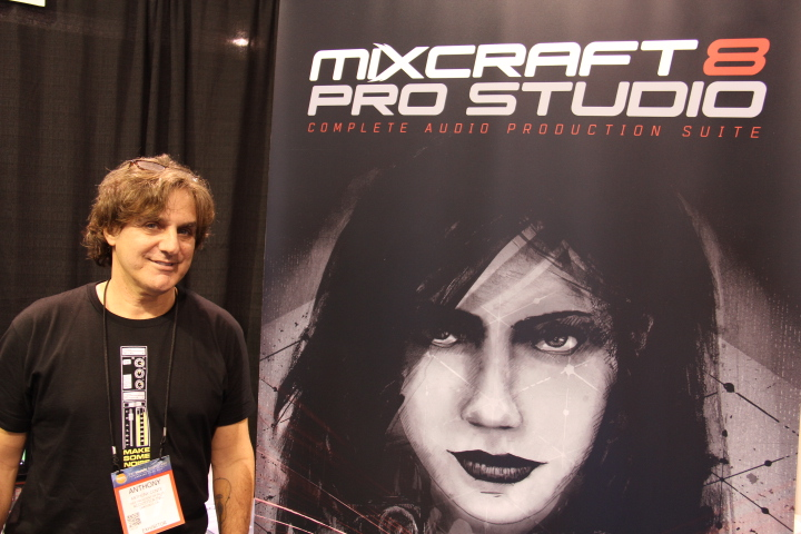 Anthony Conte, Vice President of Marketing, Acoustica unveils the impressive Mixcraft 8 Pro Studio