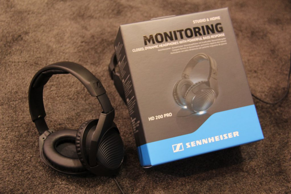 Sennheiser's HD 200 Pro Headphones (Photo by: Fredwill Hernandez/ The Hollywood 360)