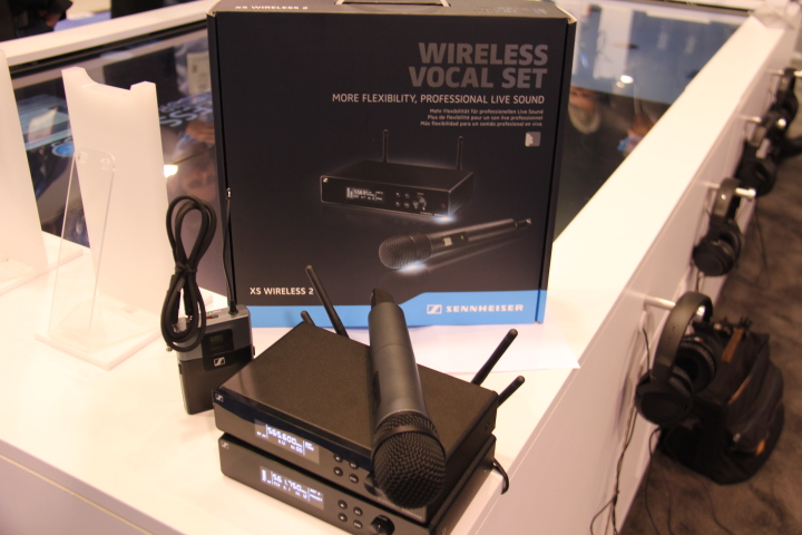 Sennheiser's XS Wireless 2 (Photo by: Fredwill Hernandez/The Hollywood 360)