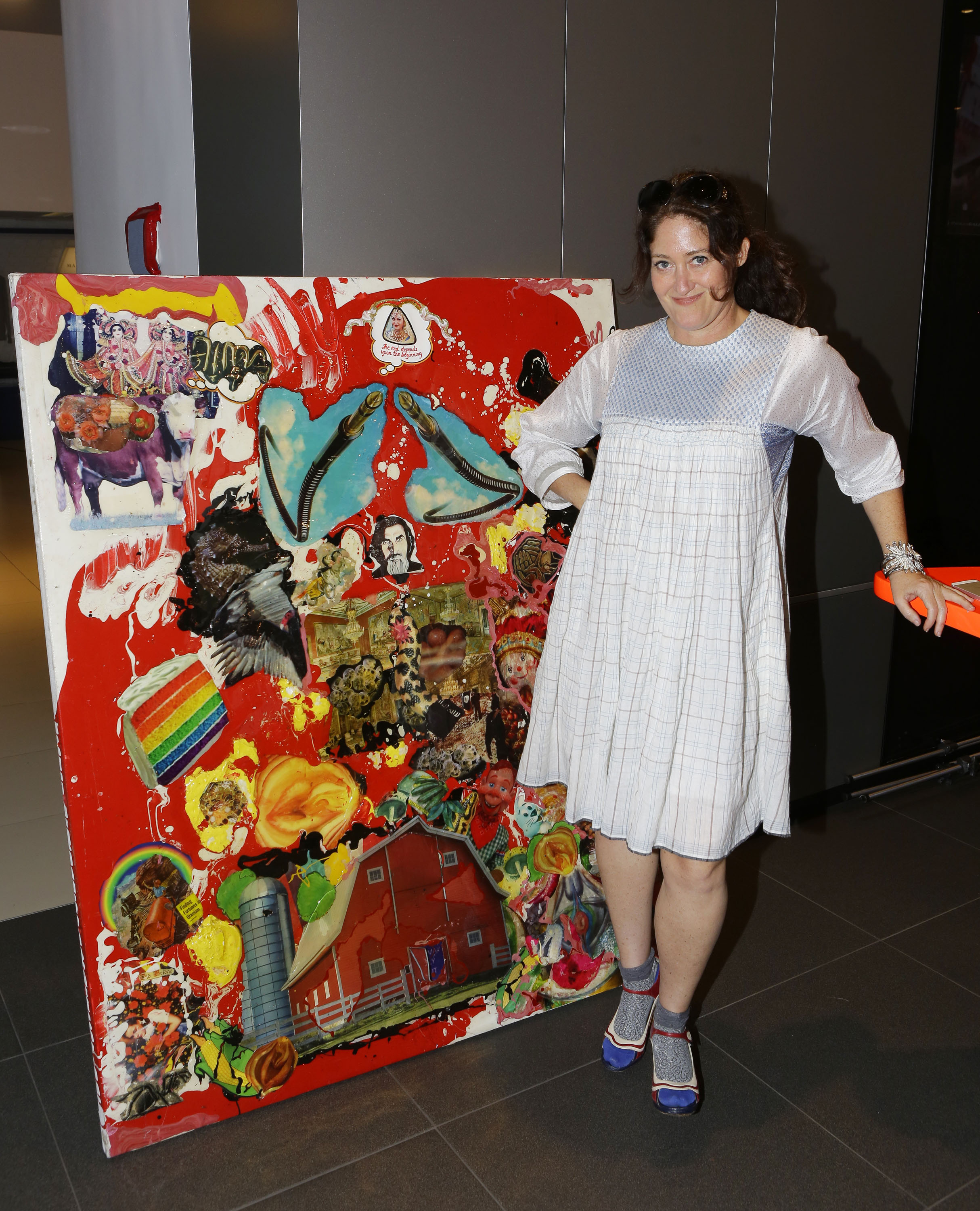 Artist Tracey Keilly (Photo by Tiffany Rose/Getty Images for GBK)