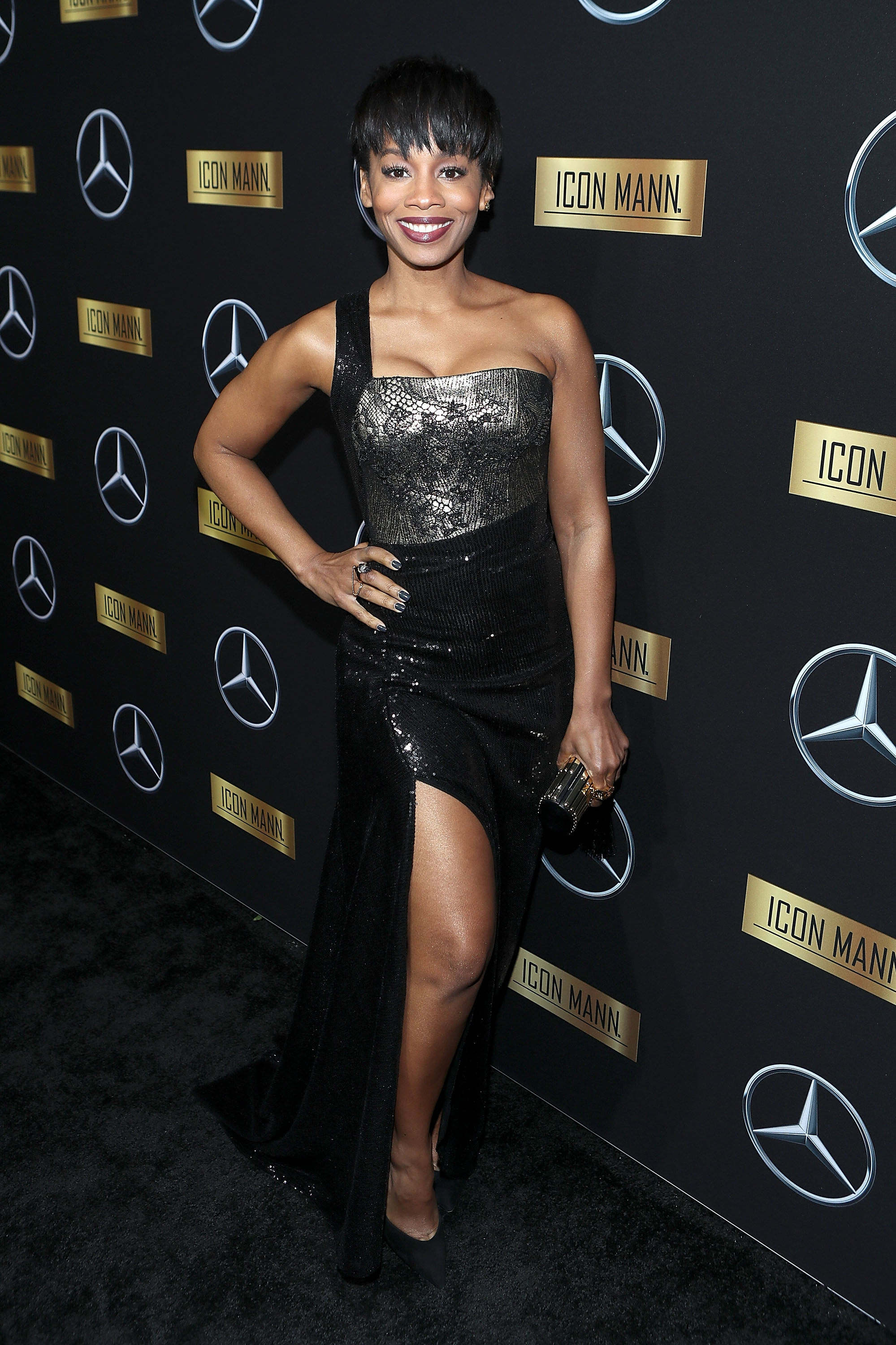Actress Anika Noni Rose (Photo by Randy Shropshire/Getty Images for Mercedes-Benz USA)