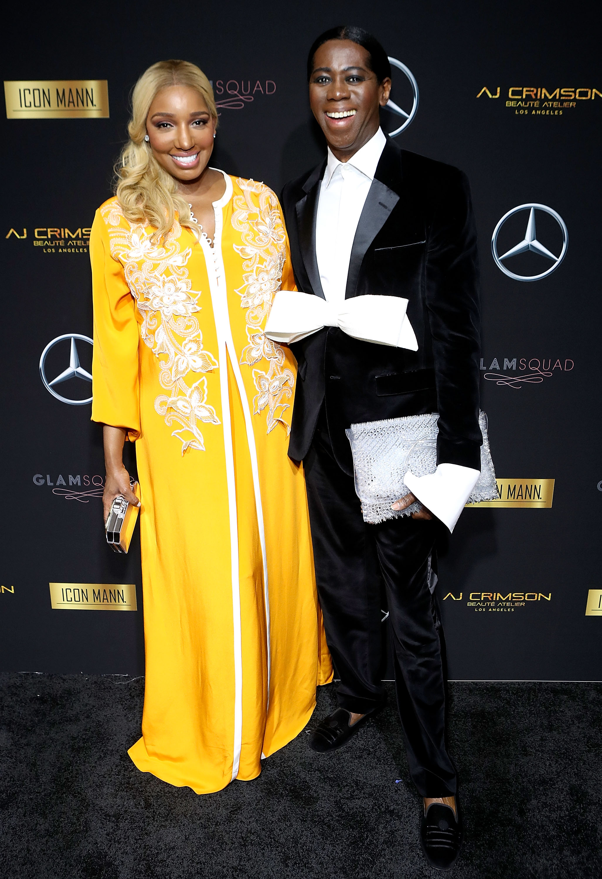 NeNe Leakes (L) and J. Alexander (Photo by Randy Shropshire/Getty Images for Mercedes-Benz USA)