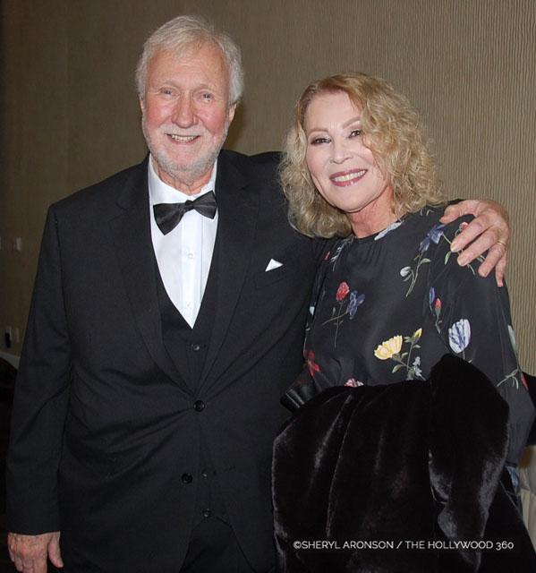Dan Wilcox with his lovely wife Leslie Easterbrook