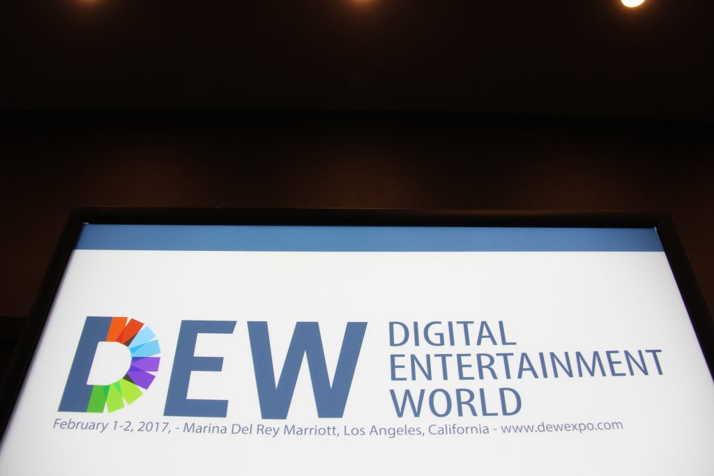 Fourth Annual Digital Entertainment World [DEW] Conference logo (Photo by: Fredwill Hernandez/The Hollywood 360)
