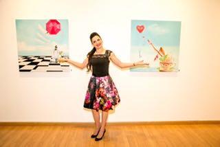 .Artist Michelle Nielsen-Moretti