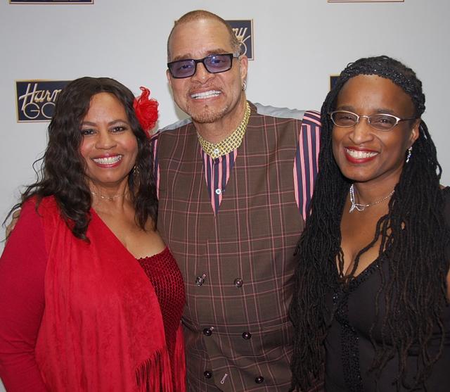 Hands4Hope Concert - Gail Jhonson (L), , Lydia Floyd (C), Comedian Sinbad (R