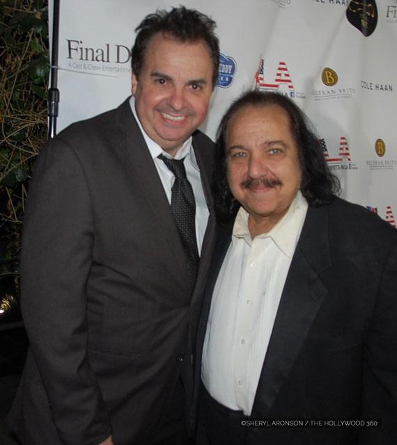 Sandro Monetti (L), Ron Jeremy (R)