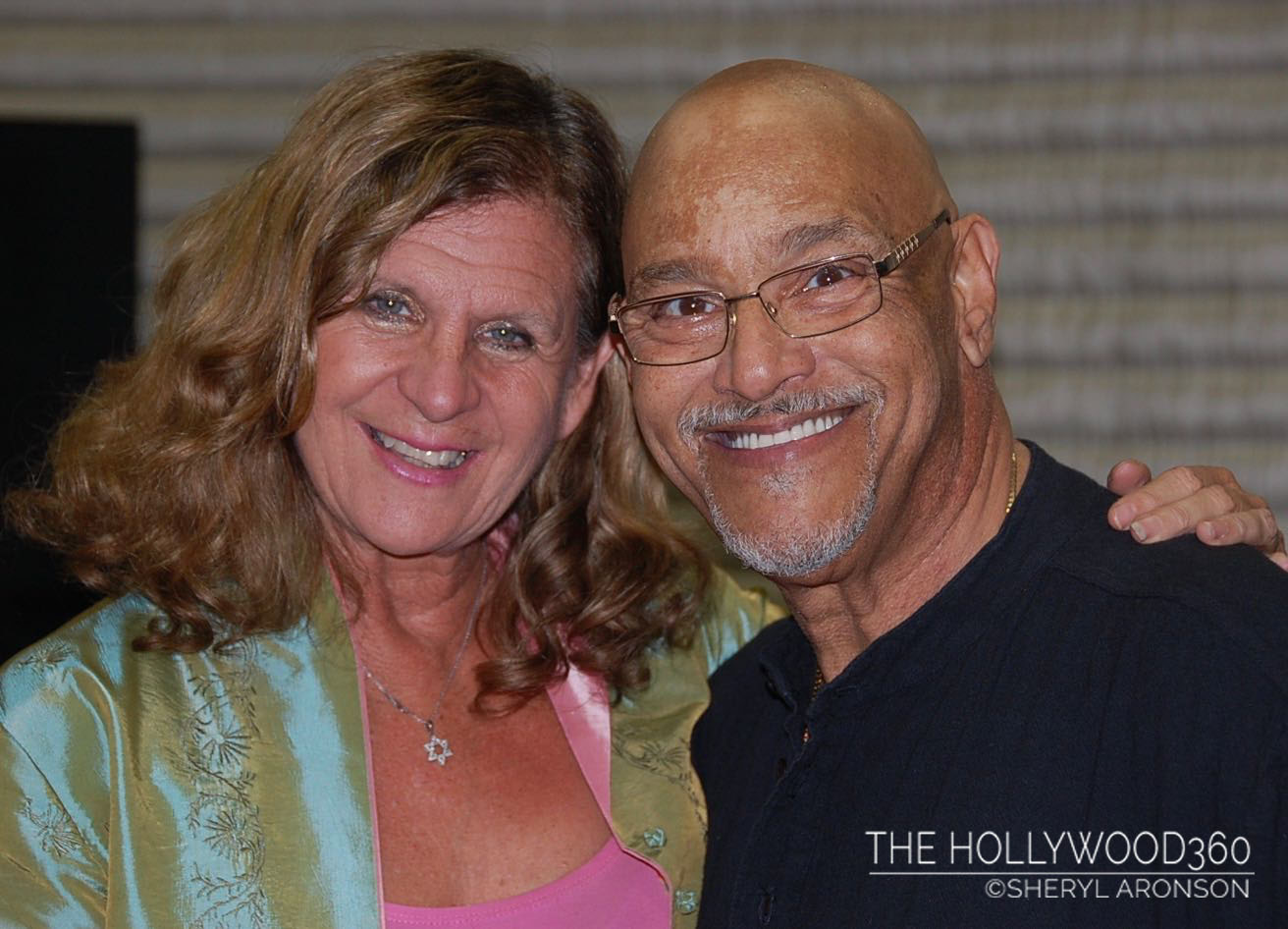 The Hollywood 360's Sheryl Aronson with Phil Perry