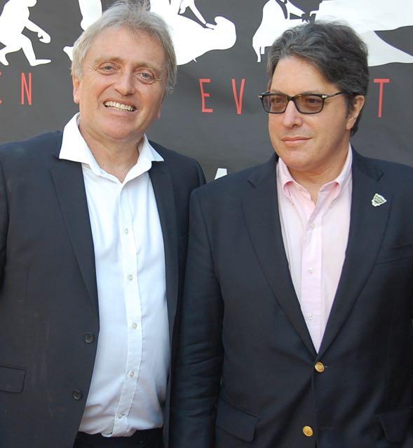 AL Harris with Beverly Hills Mayor John A. Mirisch