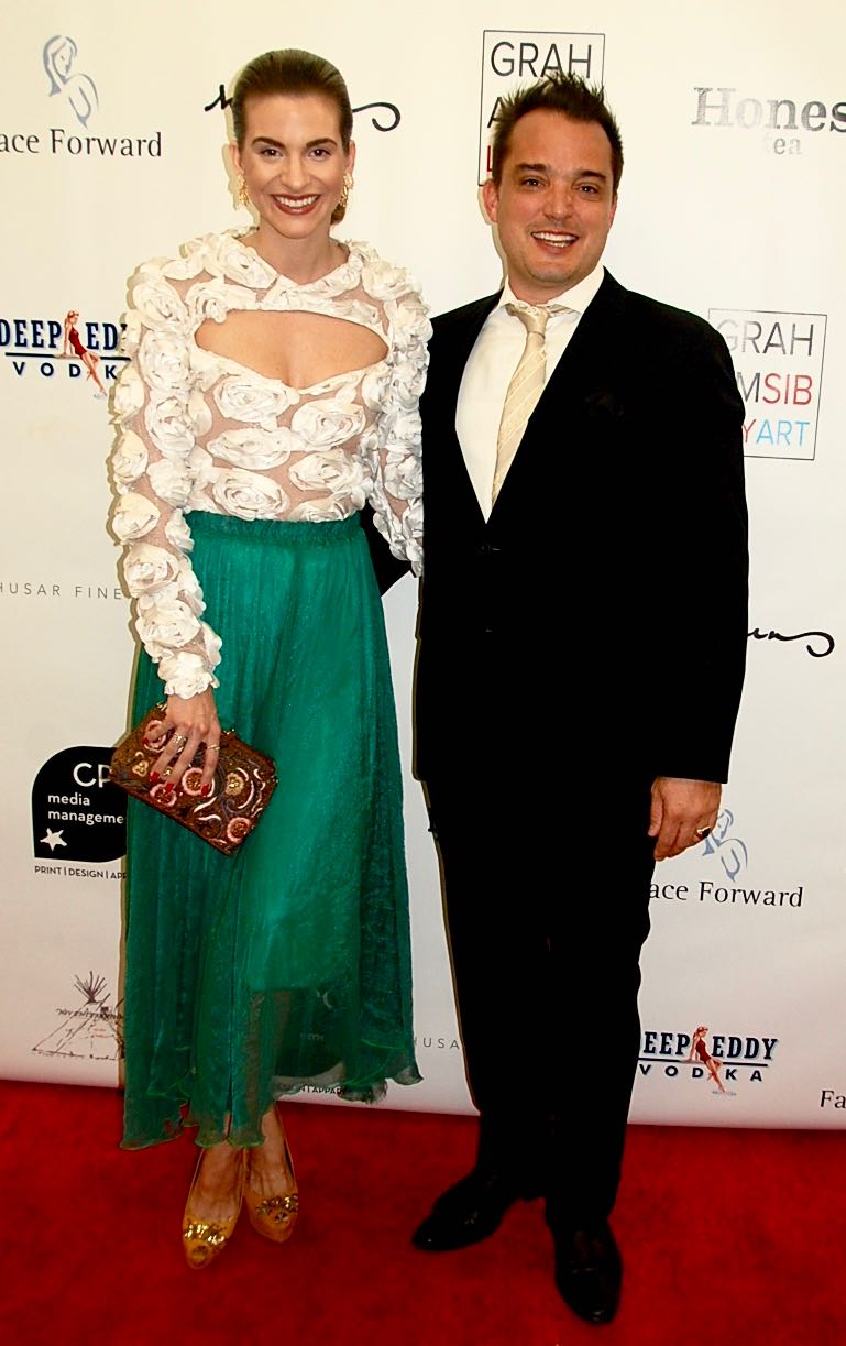Model and McCord List Founder Rachel McCord with husband entrepreneur Rick Schirmer