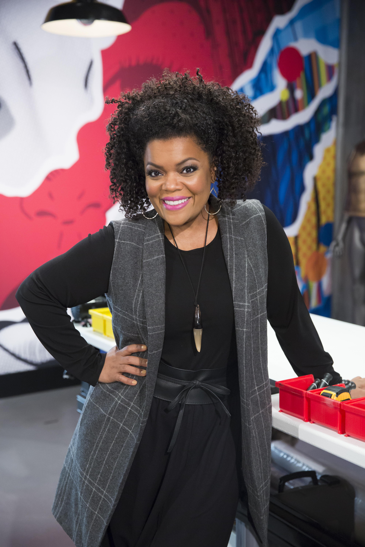 COSPLAY MELEE Host -Yvette Nicole Brown (Photo by: Dale Berman/Syfy)
