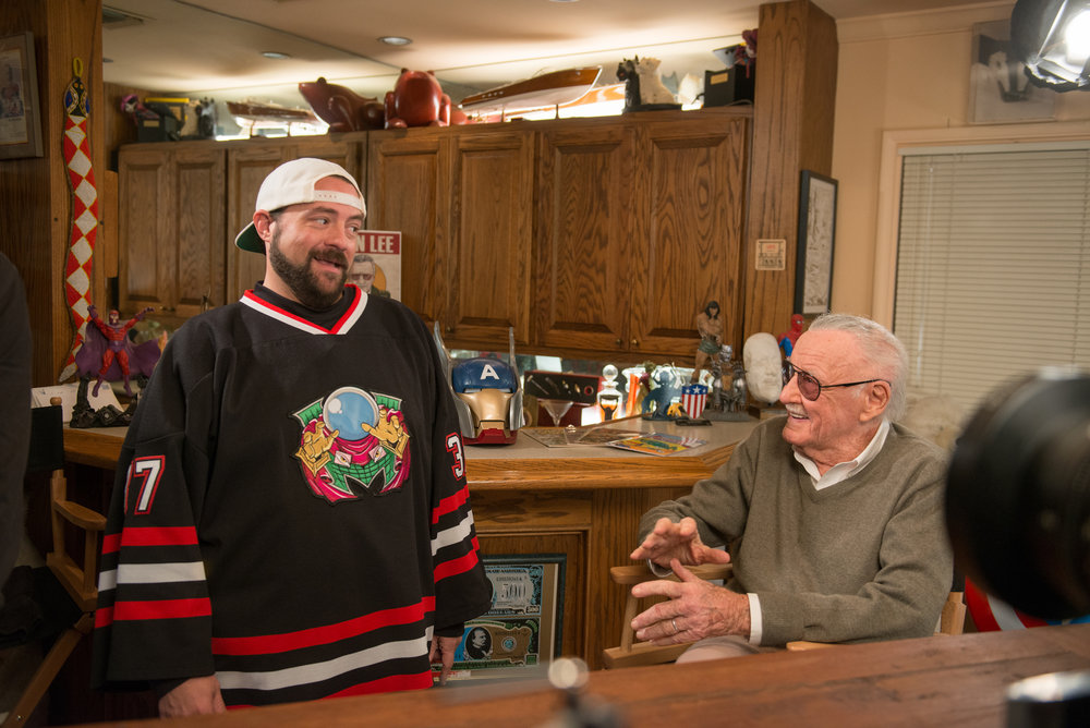 Icon: Face to Face - Kevin Smith (L) and Stan Lee(R)
