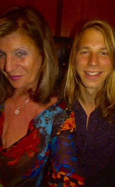 The Hollywood 360's Sheryl Aronson with DenManTau's Jonas Jones